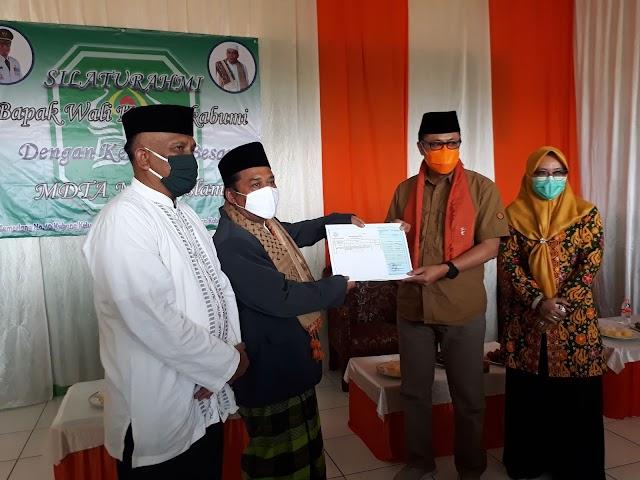 Pemkot Sukabumi Salurkan Bantuan ke Lembaga Pendidikan Keagamaan