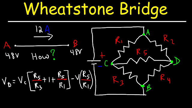 How To Solve The Wheatstone Bridge Circuit