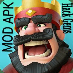 clash royale hacked mod apk
