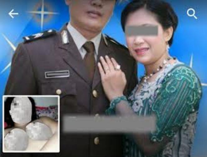 Foto Hot Istri Polisi Telanjang gegerkan Netizen