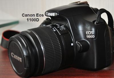 Spesifikasi dan Harga Kamera Canon Eos 1100D / Rebel T3 tahun 2015