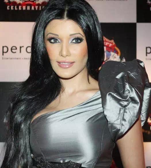 Koena Mitra Straight Long Hairstyle