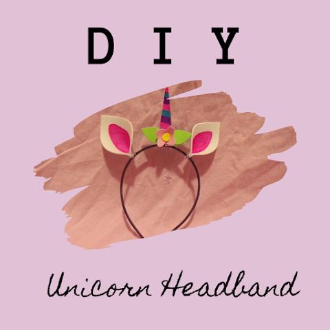 How to Make DIY Unicorn Headband - Super Cute and Easy DIY!