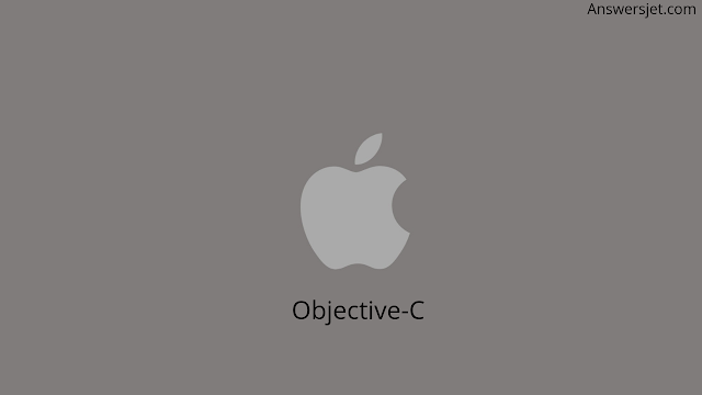 What is programming language? OBJECTIVE-C Most used programming languages