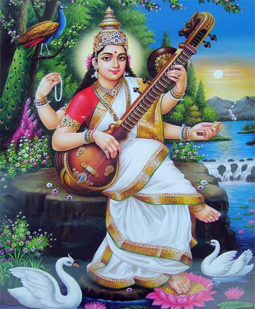 Saraswati Puja Procedure