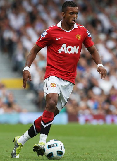 Style of play of great footballer Luis Nani striker of