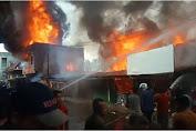 Pali Pendopo Market Burns