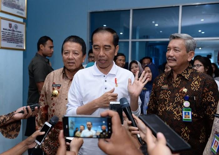 Gubernur Arinal Dampingi Presiden Kunjungi RSUD Abdul Moeloek