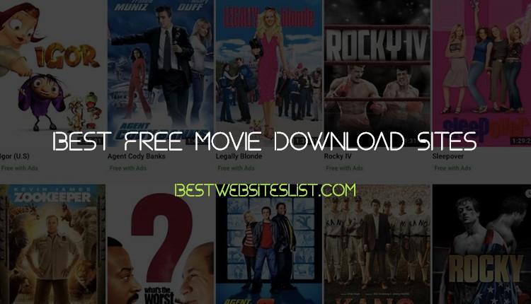 Best Free Movie Download Sites