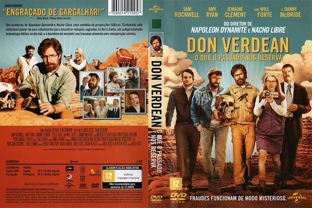 Capa DVD Don Verdean