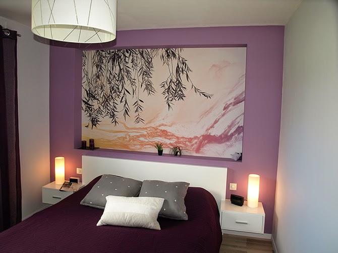 le blog belmon d co t tes de lit tableau g ant l unique r alisations design chez nos clients. Black Bedroom Furniture Sets. Home Design Ideas
