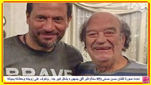 وفاة الممثل المصري حسن حسني...رحل بنوبه قلبية