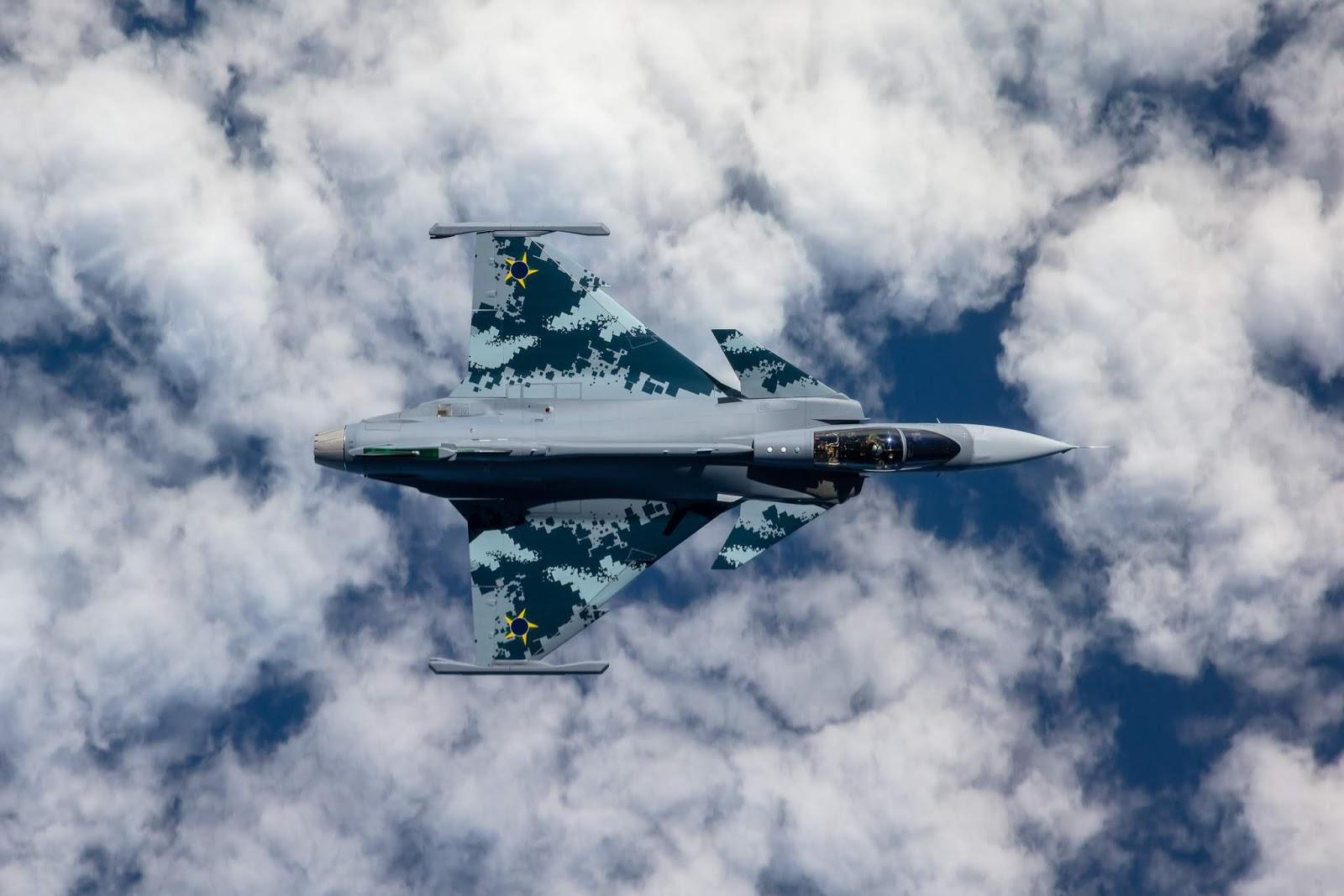 Saab Apresentou o primeiro Gripen E para o Brasil | É MAIS QUE VOAR