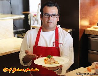 Chef Jaime Arbulu