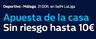 william hill promocion Deportivo vs Malaga 6 abril