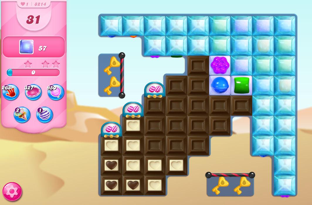 Candy Crush Saga level 8214