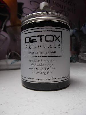 DETOX absolute - organický telový peeling  Soaphoria