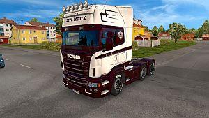Zeta Logistic skin for Scania RJL