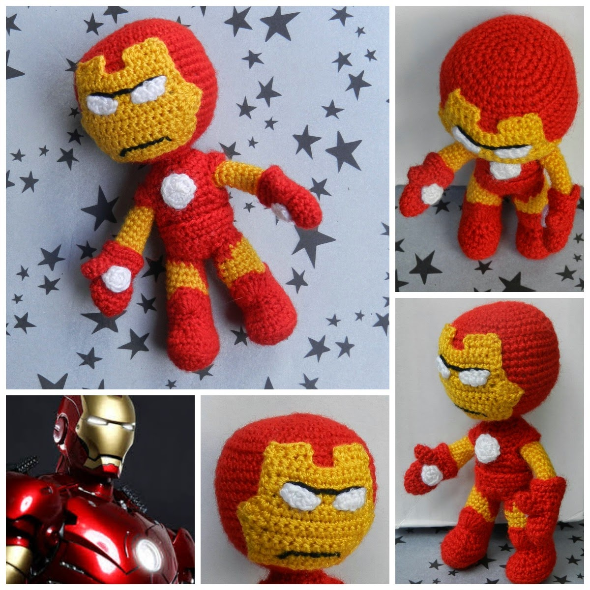 Iron Man | Crochet patterns amigurumi, Crochet batman, Crochet ... | 1200x1200