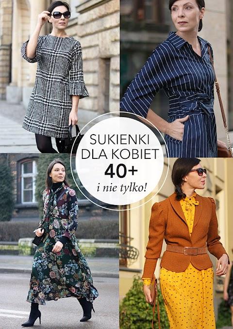 Sukienki dla kobiet 40+
