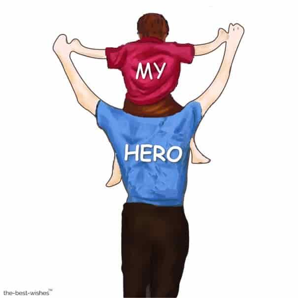 my hero dad image