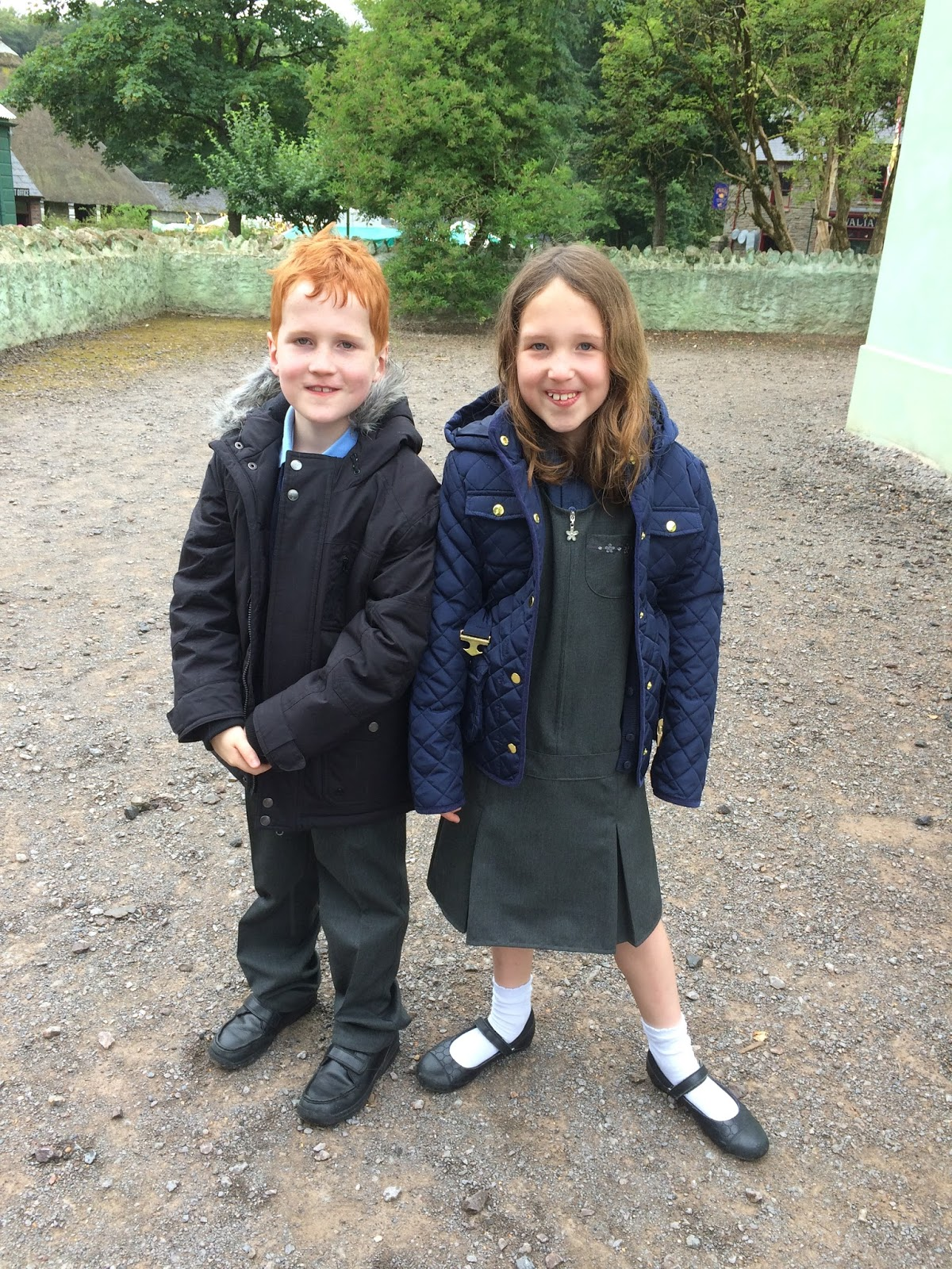 Caitlin and Ieuan at St. Fagans, Cardiff