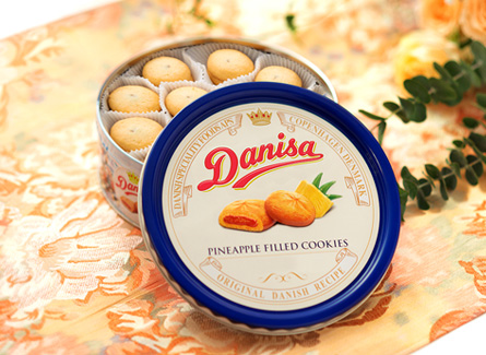 Danisa Pineapple-filled Butter Cookies