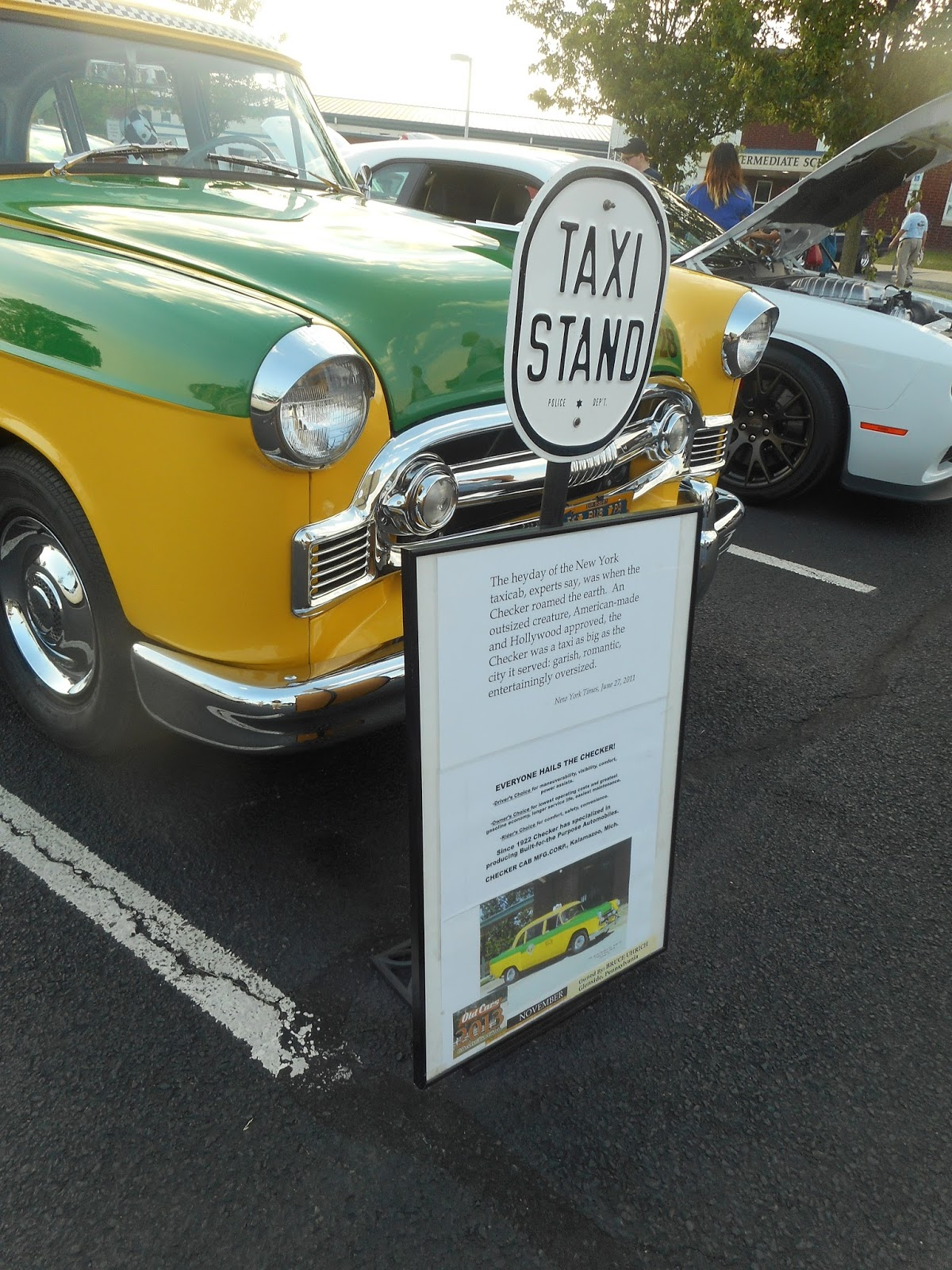 Upper Moreland Middle School Car Show