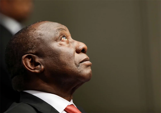Watch: President Cyril Ramaphosa was booed at former Zimbabwean president Robert Mugabe's memorial in Harare