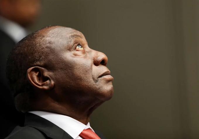 Watch: President Cyril Ramaphosa was booed at former Zimbabwean president Robert Mugabe's memorial in Harare
