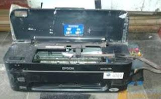 Printer Epson T13 Lampu Berkedip