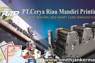 Lowongan Kerja Pekanbaru : PT. Cerya Riau Mandiri Printing Januari 2018
