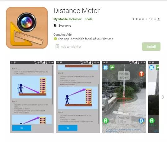 distance meter app