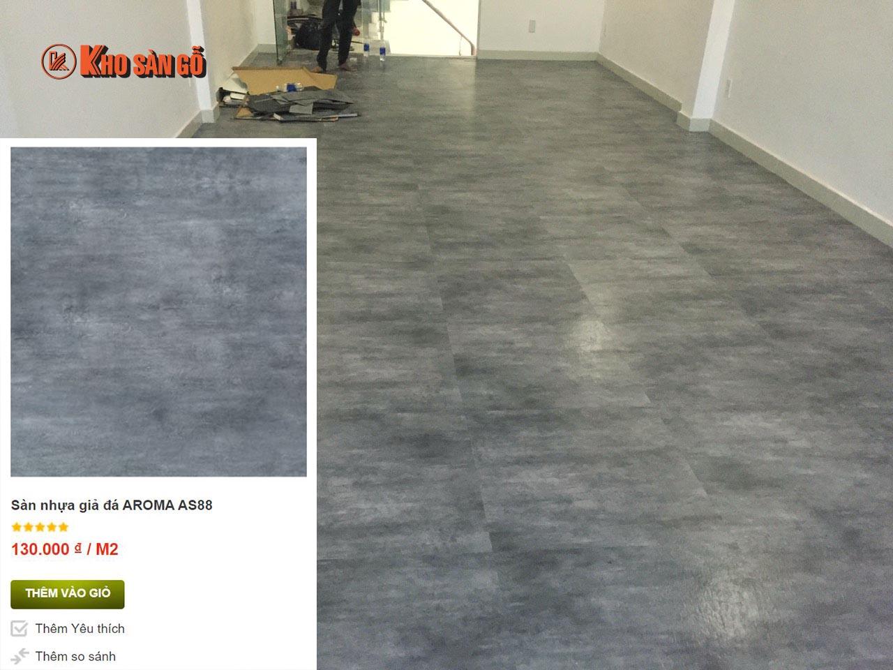 AROMA AS88 sàn nhựa giả đá như thật - www.TAICHINH2A.COM