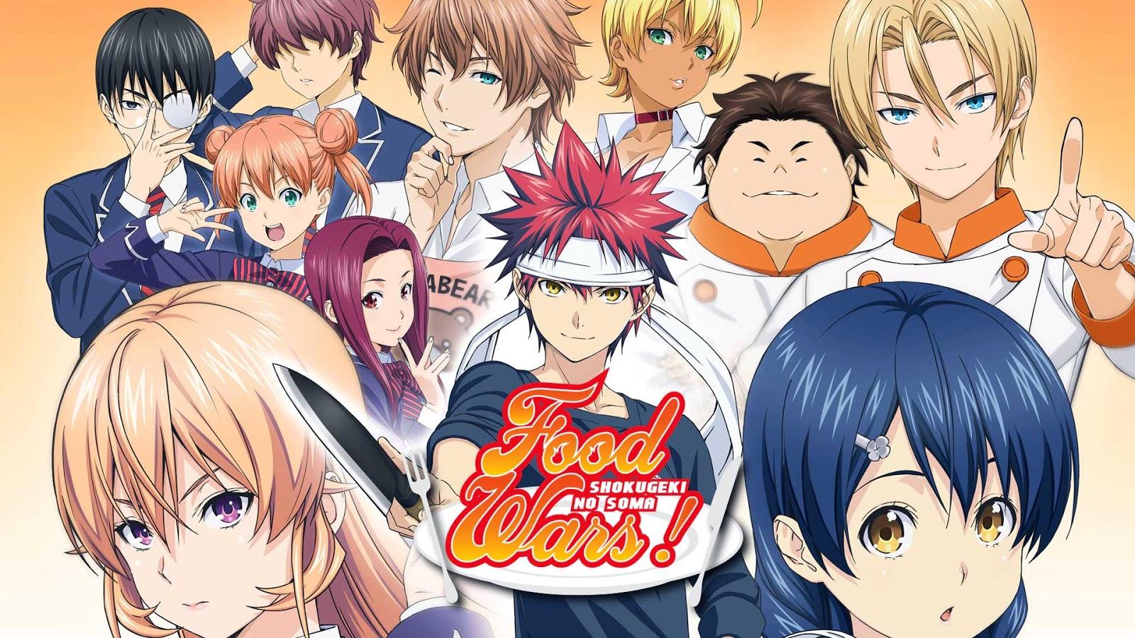 ≫ Episodios Shokugeki no Soma : Relleno y Orden para ver | Anime Datos