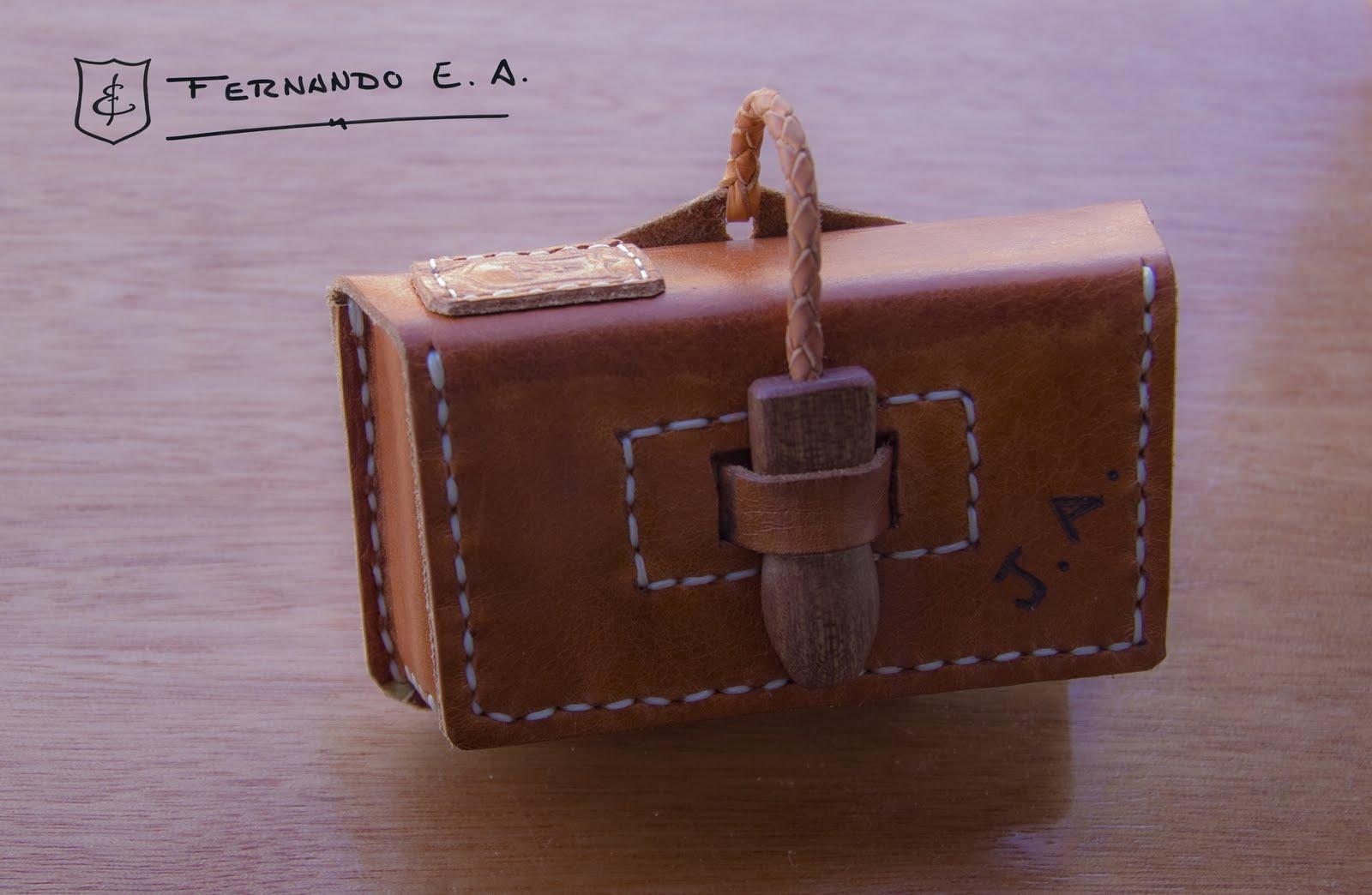 a174aca5416 Original funda de cuero para móvil, no me acuerdo del modelo de Nokia que  era.