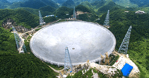 FAST, το Μεγαλύτερο Ραδιοτηλεσκόπιο του Κόσμου