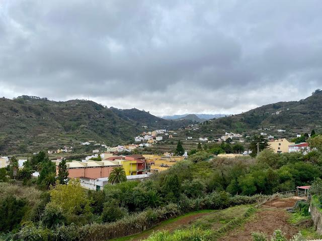 Mountain views around the town of Teror, Gran Canaria, Spain