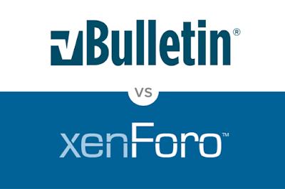 vBulletin 5 vs xenForo 2