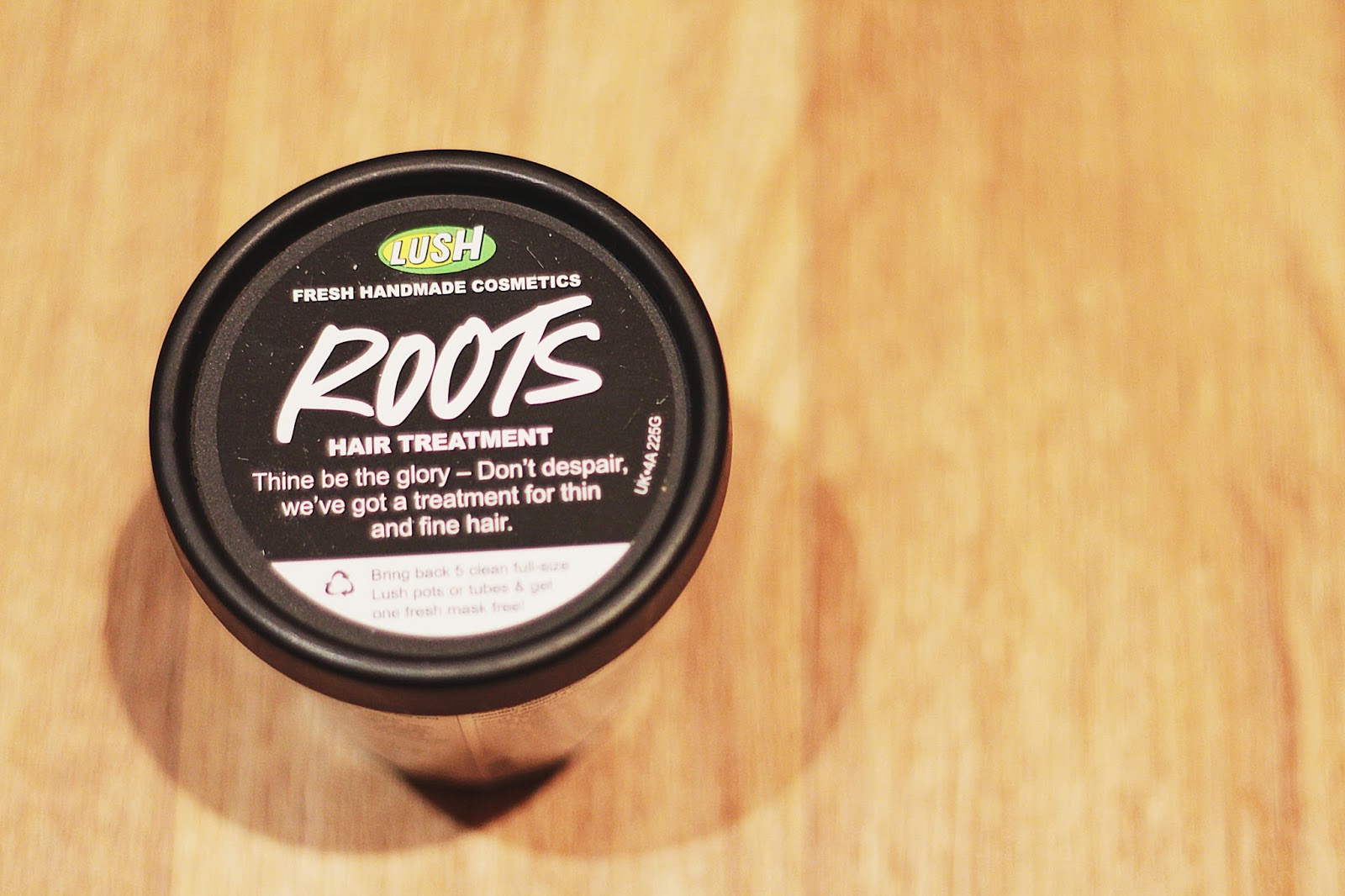 Lush ROOTS scalp treatment product outer
