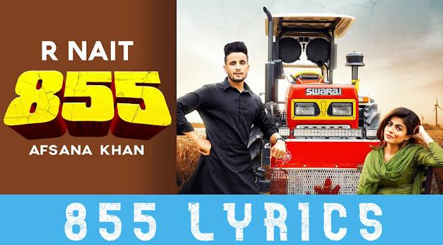 855 Lyrics by R nait