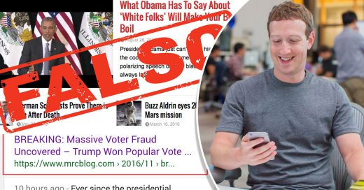 El problema de las noticias falsas en Facebook