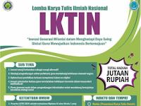Lomba Karya Tulis Ilmiah Nasional 2019 di HMJ Sosiologi UM
