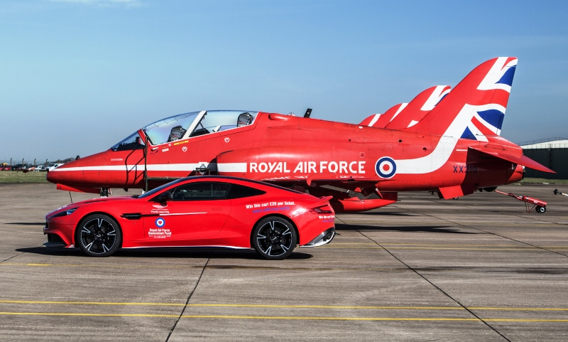 Aston Martin Vanquish S Red Arrows Edition All About Otomotif