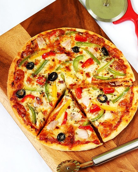 How to make a pizza at home :কীভাবে বাড়িতে পিৎজা তৈরী করবেন