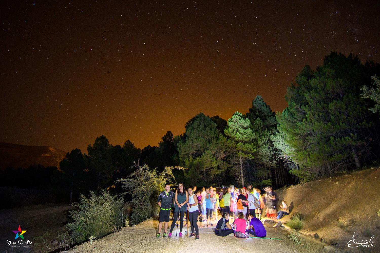 Senderismo nocturno en la Sierra Sur de Jaén