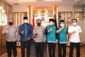 Kapolda Sumut Ajak DPP JBMI Jaga Kerukunan Antarumat Beragama