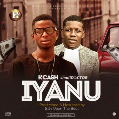 "Born Lawal Yusuf Kayode, K Cash is a 23 Year Old Nigerian singer who started music at his early age, Although ventured into the industry professionally in 2010. His previous singles Gobe, and Orimi brought him closer to the Spotlite.  K Cash shows that he is here to stay this time with the release of his latest effort ""IYANU"" featuring Small Doctor. Produced, Mixed and Mastered by 2tty Upon The Beat."