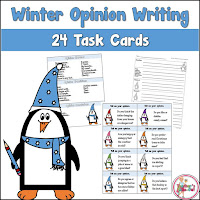 Winter Opinion Task Cards