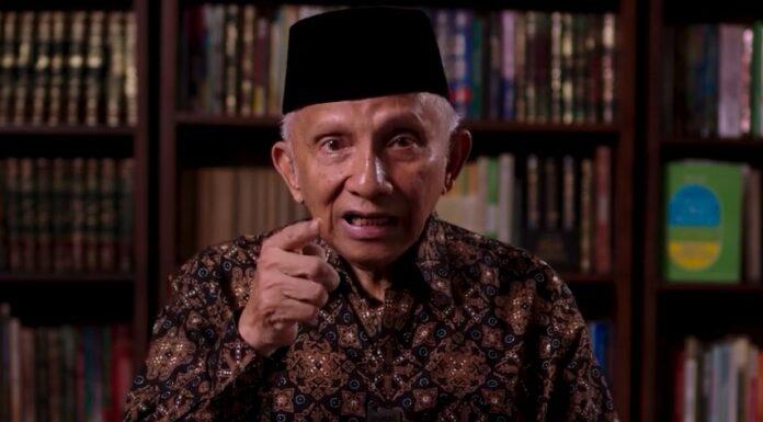 Ngebet Pindah Ibu Kota, Amien Rais: Pak Lurah Kena Gejala Penyakit Mental 'Affluenza'